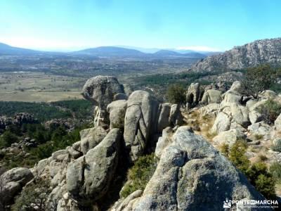 La Camorza-La Pedriza; excursiones de un dia cañada real segoviana macizo galaico leones